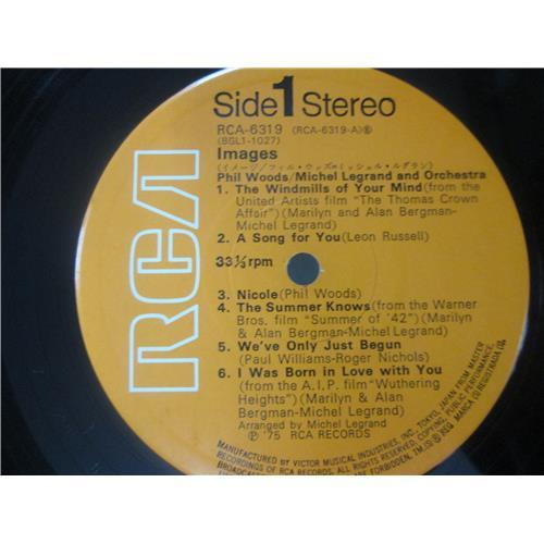 Картинка  Виниловые пластинки  Phil Woods / Michel Legrand And Orchestra – Images / RCA-6319 в  Vinyl Play магазин LP и CD   03020 3