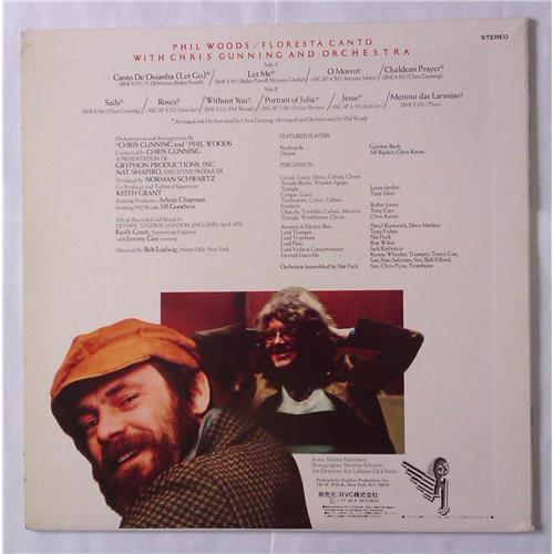 Картинка  Виниловые пластинки  Phil Woods With Chris Gunning And Orchestra – Floresta Canto / RVP-6143 в  Vinyl Play магазин LP и CD   04599 1