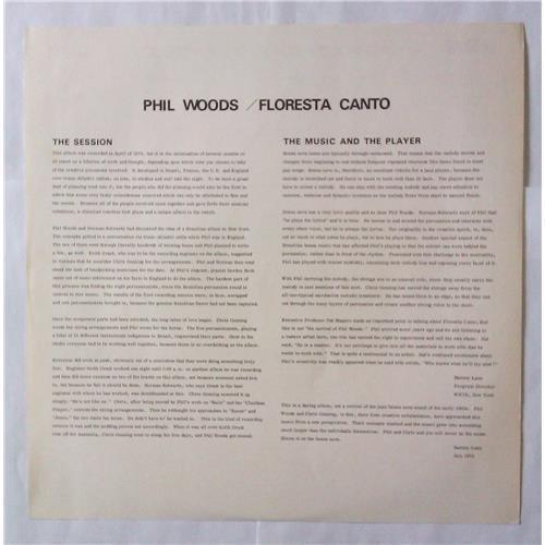 Картинка  Виниловые пластинки  Phil Woods With Chris Gunning And Orchestra – Floresta Canto / RVP-6143 в  Vinyl Play магазин LP и CD   04599 3