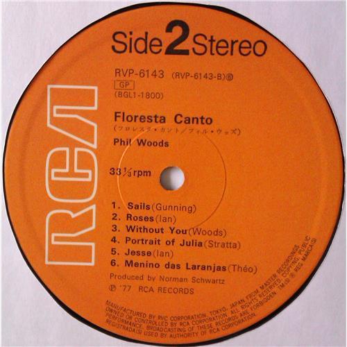 Картинка  Виниловые пластинки  Phil Woods With Chris Gunning And Orchestra – Floresta Canto / RVP-6143 в  Vinyl Play магазин LP и CD   04599 5