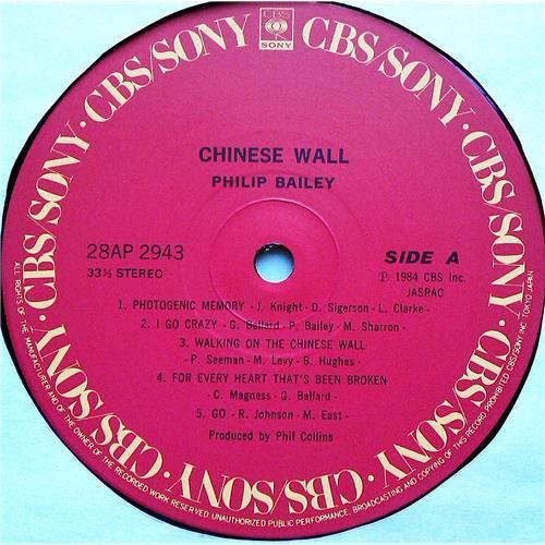 Картинка  Виниловые пластинки  Philip Bailey – Chinese Wall / 28AP 2943 в  Vinyl Play магазин LP и CD   07409 3