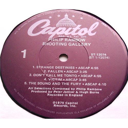 Картинка  Виниловые пластинки  Philip Rambow – Shooting Gallery / ST-12074 в  Vinyl Play магазин LP и CD   06469 2