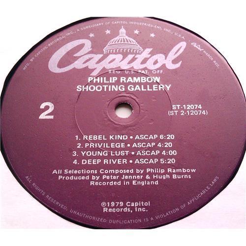Картинка  Виниловые пластинки  Philip Rambow – Shooting Gallery / ST-12074 в  Vinyl Play магазин LP и CD   06469 3