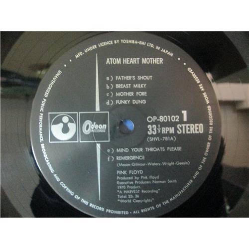 Картинка  Виниловые пластинки  Pink Floyd – Atom Heart Mother / OP-80102 в  Vinyl Play магазин LP и CD   02722 5