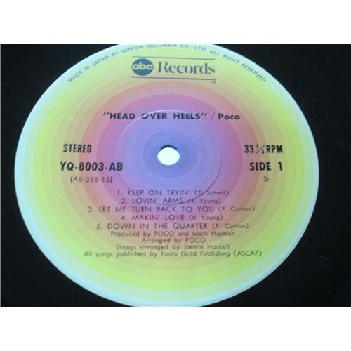 Картинка  Виниловые пластинки  Poco – Head Over Heels / YW-8003-AB в  Vinyl Play магазин LP и CD   00299 2