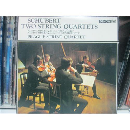 Виниловые пластинки  Prague String Quartet – Schubert: Two String Quartets: No. 13, No. 12 / OX-7042-ND в Vinyl Play магазин LP и CD  00994