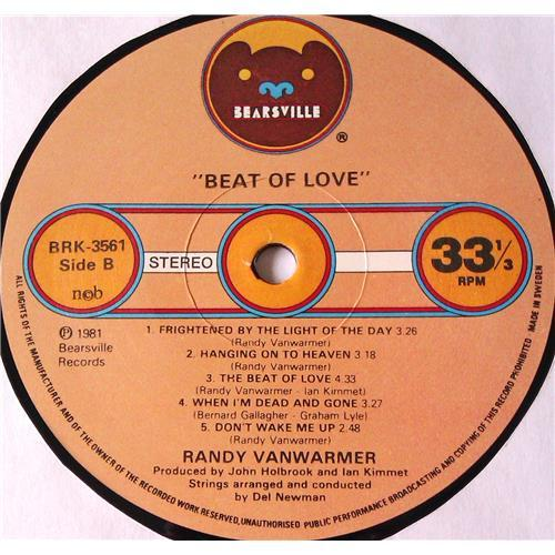 Картинка  Виниловые пластинки  Randy Vanwarmer – Beat Of Love / BRK 3561 в  Vinyl Play магазин LP и CD   05895 5