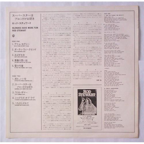 Картинка  Виниловые пластинки  Rod Stewart – Blondes Have More Fun / P-10602W в  Vinyl Play магазин LP и CD   05081 4