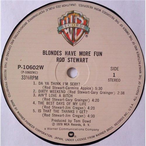 Картинка  Виниловые пластинки  Rod Stewart – Blondes Have More Fun / P-10602W в  Vinyl Play магазин LP и CD   05081 6