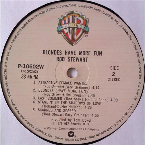 Картинка  Виниловые пластинки  Rod Stewart – Blondes Have More Fun / P-10602W в  Vinyl Play магазин LP и CD   05081 7