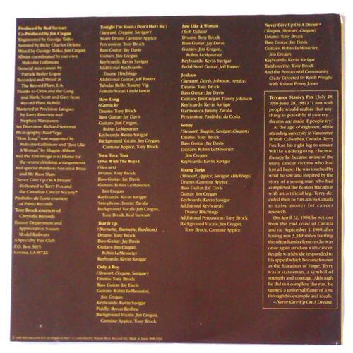 Картинка  Виниловые пластинки  Rod Stewart – Tonight I'm Yours / P-11067W в  Vinyl Play магазин LP и CD   04669 3