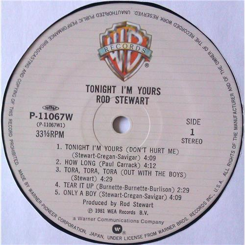 Картинка  Виниловые пластинки  Rod Stewart – Tonight I'm Yours / P-11067W в  Vinyl Play магазин LP и CD   04669 5