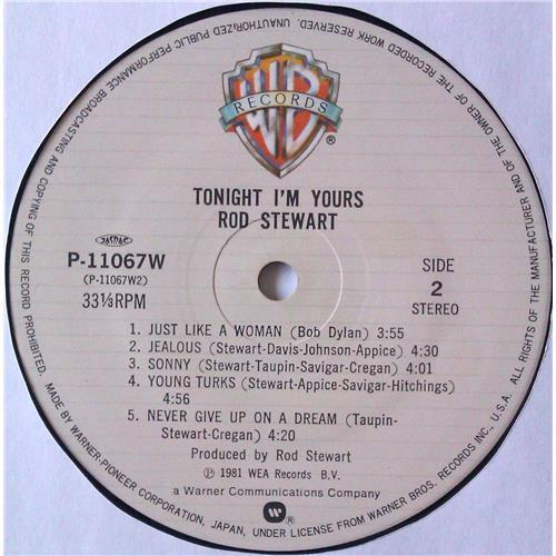 Картинка  Виниловые пластинки  Rod Stewart – Tonight I'm Yours / P-11067W в  Vinyl Play магазин LP и CD   04669 6