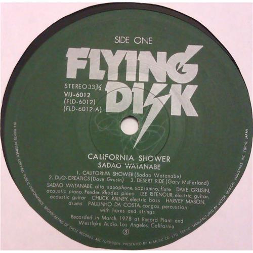 Картинка  Виниловые пластинки  Sadao Watanabe – California Shower / VIJ-6012 в  Vinyl Play магазин LP и CD   04615 4