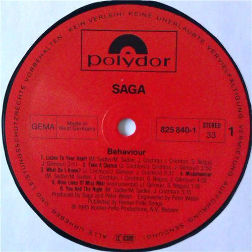 Картинка  Виниловые пластинки  Saga – Behaviour / 825 840-1 в  Vinyl Play магазин LP и CD   04587 4