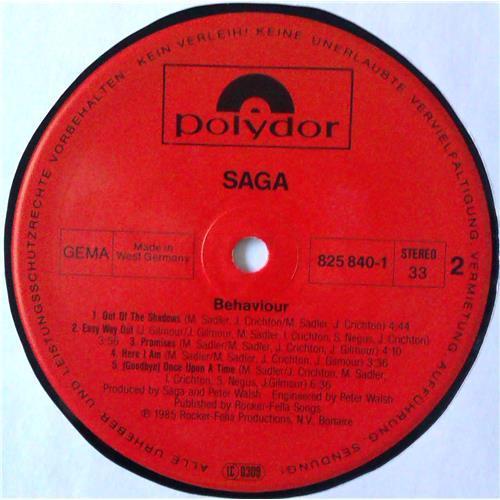 Картинка  Виниловые пластинки  Saga – Behaviour / 825 840-1 в  Vinyl Play магазин LP и CD   04587 5