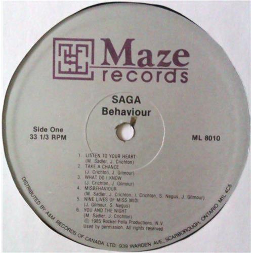 Картинка  Виниловые пластинки  Saga – Behaviour / ML 8010 в  Vinyl Play магазин LP и CD   04567 4