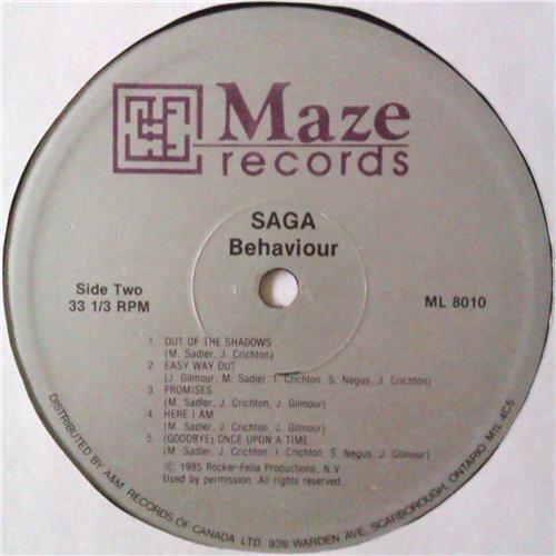 Картинка  Виниловые пластинки  Saga – Behaviour / ML 8010 в  Vinyl Play магазин LP и CD   04567 5