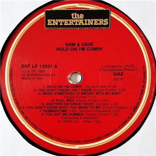 Картинка  Виниловые пластинки  Sam & Dave – Hold On I'm Comin' / ENT LP 13.061 в  Vinyl Play магазин LP и CD   08628 2