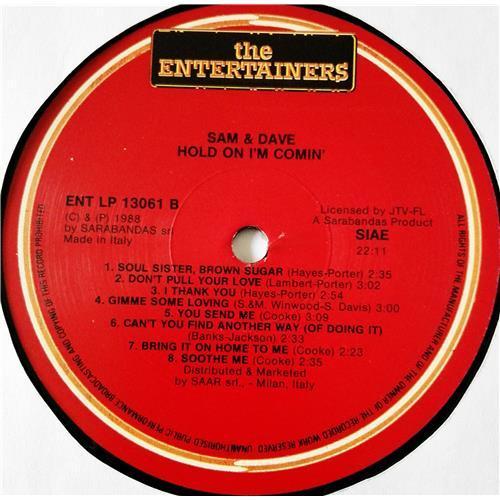 Картинка  Виниловые пластинки  Sam & Dave – Hold On I'm Comin' / ENT LP 13.061 в  Vinyl Play магазин LP и CD   08628 3