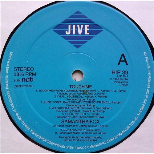 Картинка  Виниловые пластинки  Samantha Fox – Touch Me / HIP 39 в  Vinyl Play магазин LP и CD   06236 2