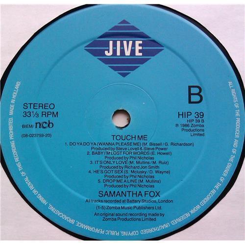 Картинка  Виниловые пластинки  Samantha Fox – Touch Me / HIP 39 в  Vinyl Play магазин LP и CD   06236 3