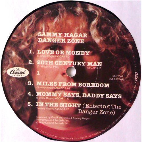 Картинка  Виниловые пластинки  Sammy Hagar – Danger Zone / ST-12069 в  Vinyl Play магазин LP и CD   04817 4