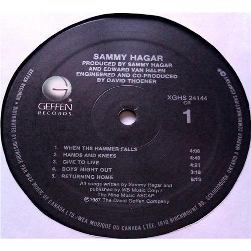 Картинка  Виниловые пластинки  Sammy Hagar – Sammy Hagar / XGHS 24144 в  Vinyl Play магазин LP и CD   04994 4
