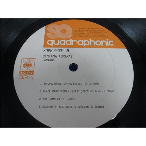 Картинка  Виниловые пластинки  Santana – Abraxas / SOPN 44004 в  Vinyl Play магазин LP и CD   05086 4