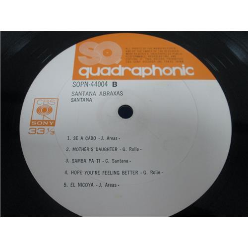 Картинка  Виниловые пластинки  Santana – Abraxas / SOPN 44004 в  Vinyl Play магазин LP и CD   05086 5