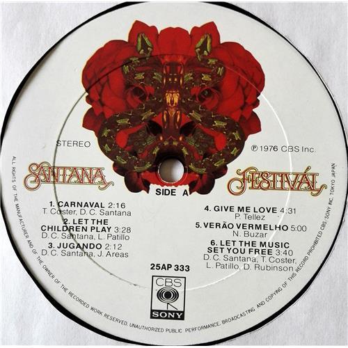 Картинка  Виниловые пластинки  Santana – Festival / 25AP 333 в  Vinyl Play магазин LP и CD   07440 6