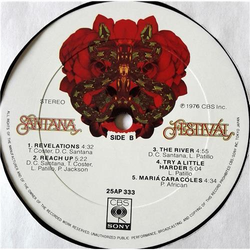Картинка  Виниловые пластинки  Santana – Festival / 25AP 333 в  Vinyl Play магазин LP и CD   07440 7