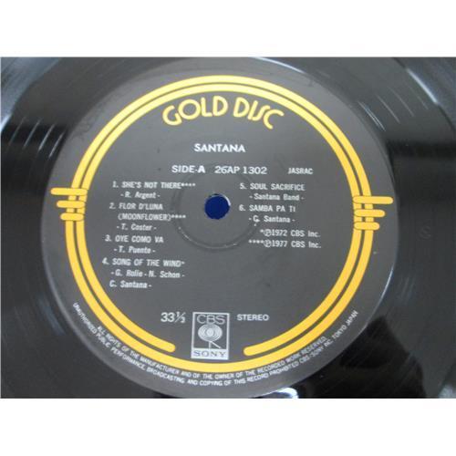 Картинка  Виниловые пластинки  Santana – Santana / 26AP 1302 в  Vinyl Play магазин LP и CD   05089 2