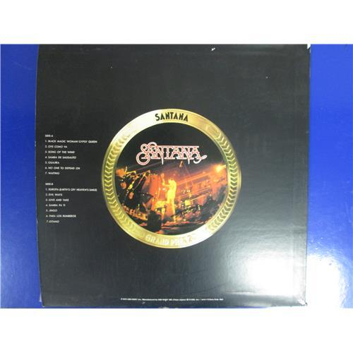 Картинка  Виниловые пластинки  Santana – Santana / 29AP 33 в  Vinyl Play магазин LP и CD   05090 1