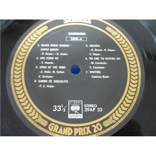 Картинка  Виниловые пластинки  Santana – Santana / 29AP 33 в  Vinyl Play магазин LP и CD   05090 2