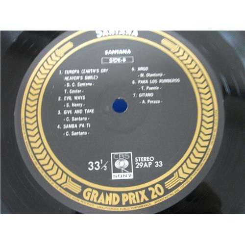 Картинка  Виниловые пластинки  Santana – Santana / 29AP 33 в  Vinyl Play магазин LP и CD   05090 3