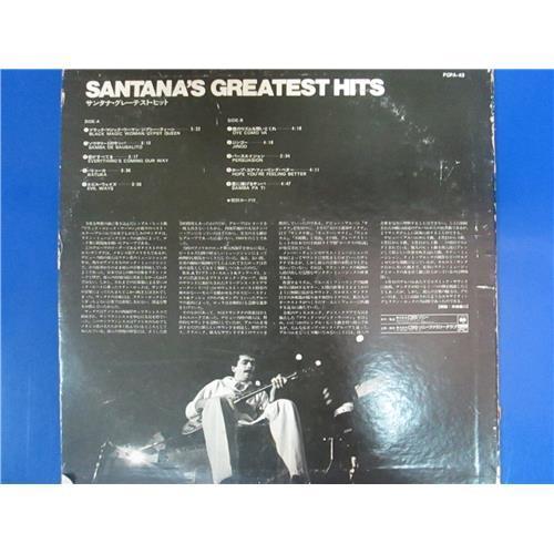 Картинка  Виниловые пластинки  Santana – Santana's Greatest Hits / FCPA-43 в  Vinyl Play магазин LP и CD   03312 1