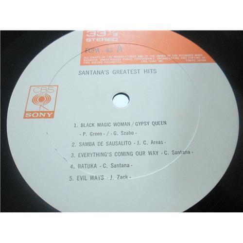 Картинка  Виниловые пластинки  Santana – Santana's Greatest Hits / FCPA-43 в  Vinyl Play магазин LP и CD   03312 2