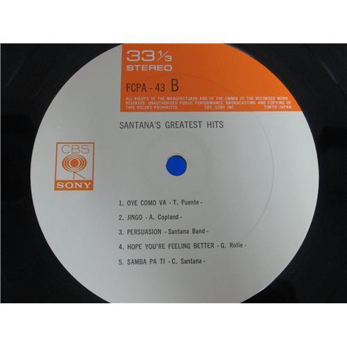 Картинка  Виниловые пластинки  Santana – Santana's Greatest Hits / FCPA-43 в  Vinyl Play магазин LP и CD   05143 3