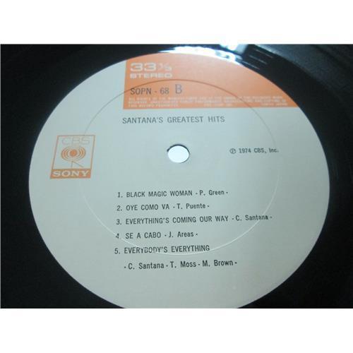 Картинка  Виниловые пластинки  Santana – Santana's Greatest Hits / SOPN 68 в  Vinyl Play магазин LP и CD   03505 3