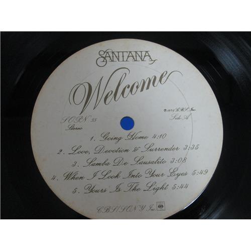 Картинка  Виниловые пластинки  Santana – Welcome / SOPN 55 в  Vinyl Play магазин LP и CD   05137 4