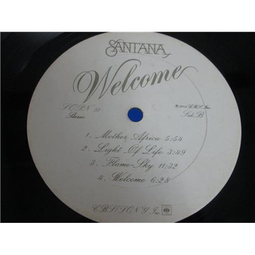 Картинка  Виниловые пластинки  Santana – Welcome / SOPN 55 в  Vinyl Play магазин LP и CD   05137 5