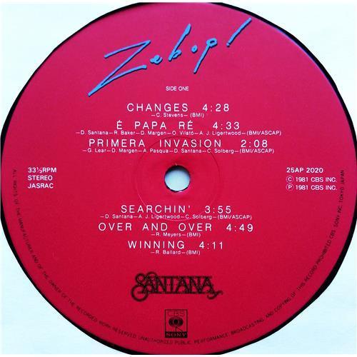 Картинка  Виниловые пластинки  Santana – Zebop! / 25AP 2020 в  Vinyl Play магазин LP и CD   07609 6