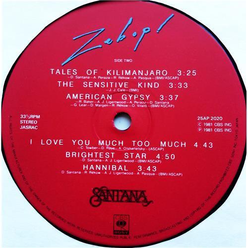 Картинка  Виниловые пластинки  Santana – Zebop! / 25AP 2020 в  Vinyl Play магазин LP и CD   07609 7