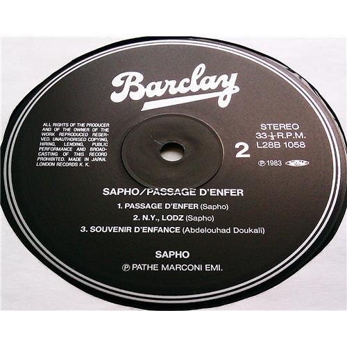 Картинка  Виниловые пластинки  Sapho – Passage D'Enfer / L28B-1058 в  Vinyl Play магазин LP и CD   07229 6