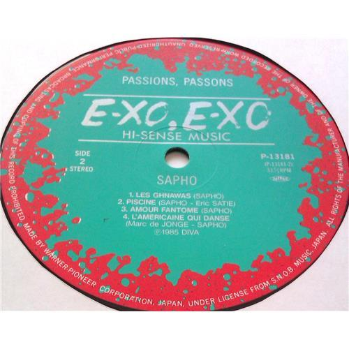 Картинка  Виниловые пластинки  Sapho – Passions, Passons / P-13181 в  Vinyl Play магазин LP и CD   05565 3