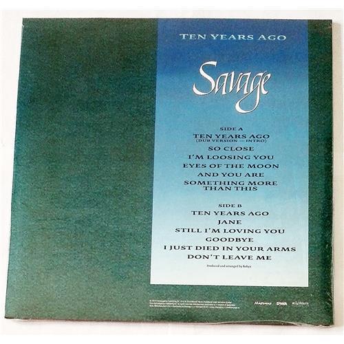 Картинка  Виниловые пластинки  Savage – Ten Years Ago (Ultimate Edition) / MIR 100716 / Sealed в  Vinyl Play магазин LP и CD   08690 1