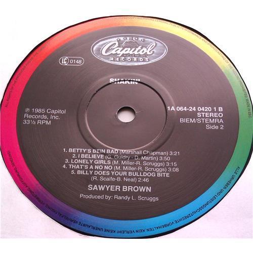 Картинка  Виниловые пластинки  Sawyer Brown – Shakin' / 1A 064-24 0420 1 в  Vinyl Play магазин LP и CD   06498 3