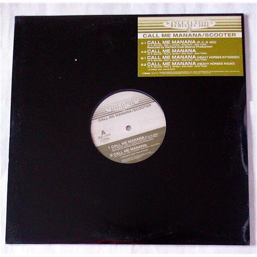 Виниловые пластинки  Scooter – Call Me Manana / CLP-511 / Sealed в Vinyl Play магазин LP и CD  07116