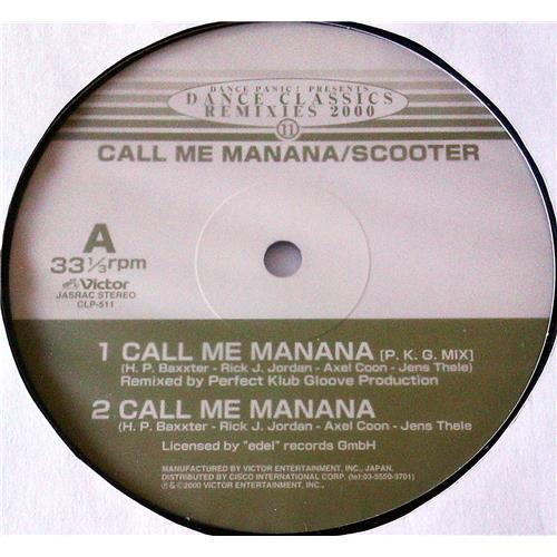 Картинка  Виниловые пластинки  Scooter – Call Me Manana / CLP-511 / Sealed в  Vinyl Play магазин LP и CD   07116 1